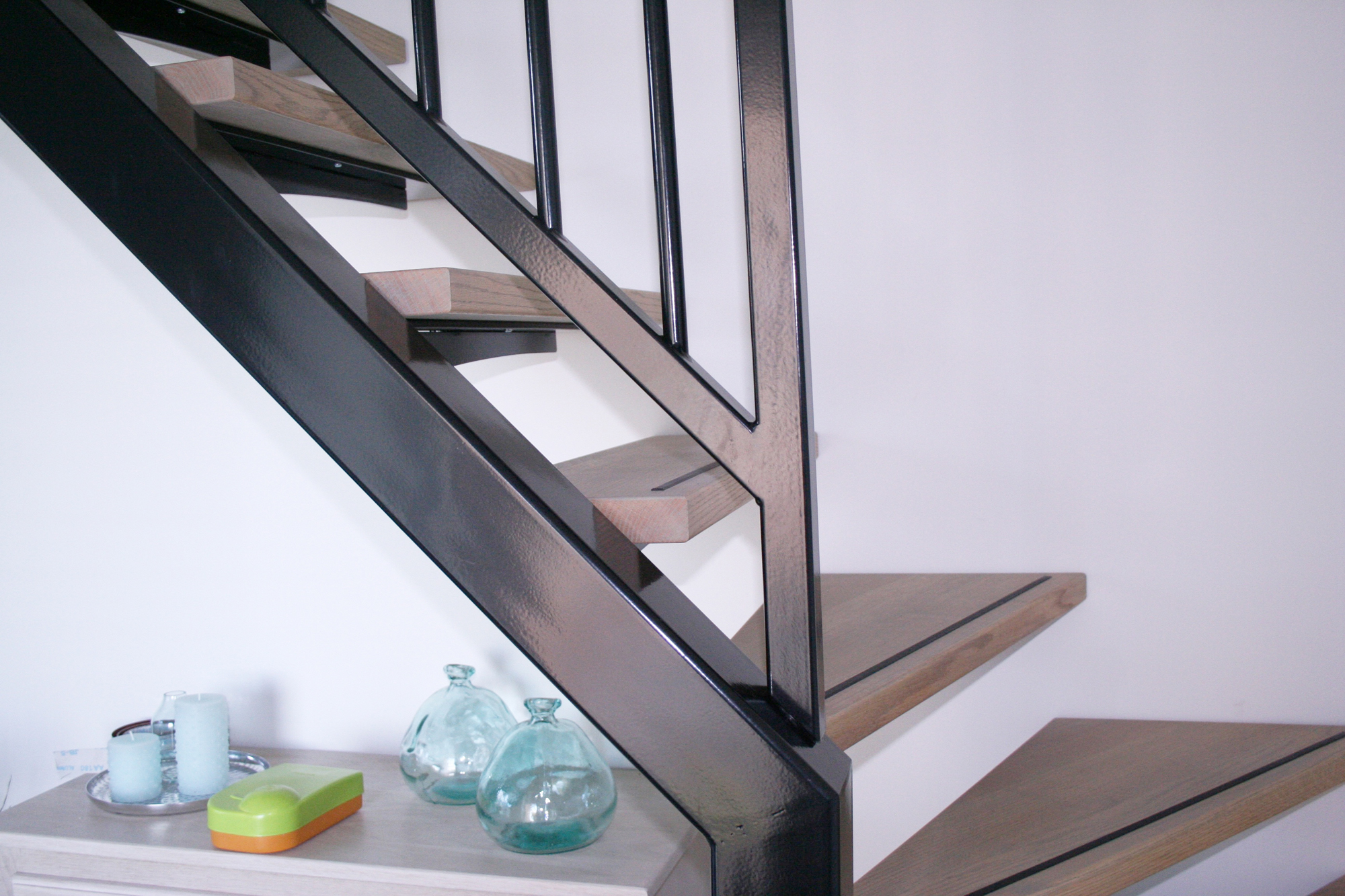 Stalen trap projecten atzori design for Stalen trap maken